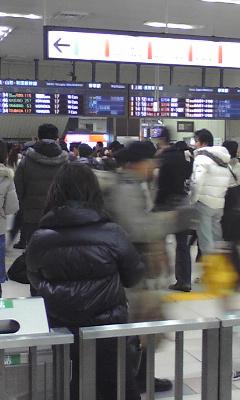 JR東日本の新幹線は復旧、運行を開始したようですが  その2  JR大宮駅では