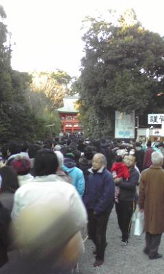 氷川神社へ初詣
